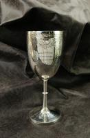 Late 19th Century 'Gymkhana' Silver Chalice (7 of 11)