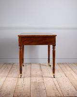 Fine Quality Late Regency Mahogany Library Table (8 of 8)
