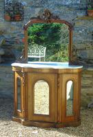 Pretty Victorian Chiffonier Credenza Neat Proportions (2 of 9)