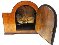 Good Arched Top Art Deco Mantel Clock – Musical Westminster Chiming 8-day Mantle Clock (8 of 11)