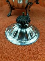 Antique Silver Plate Sheffield Teapot - Art Deco  C1920 (4 of 11)