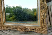 Gilded Rococo Style Wood Mirror Bevelled Glass 1900 (8 of 12)