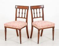 Pretty Pair of Mahogany Regency Side Chairs (3 of 6)