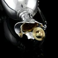 Antique Victorian Solid Silver Wine Ewer / Claret Jug - Barnard 1872 (17 of 19)