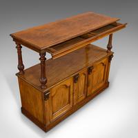 Large Antique Buffet, English, Walnut, Server, Sideboard, William IV c.1830 (4 of 12)