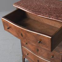 Marble Top Walnut Chest of Drawers (8 of 15)
