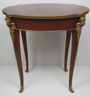 Early 20th Century Marquetry Inlaid Mahogany Table