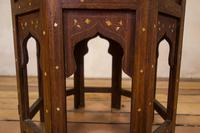 Late 19th Century Indian Hoshiarpur Occasional Octagonal Table (5 of 15)