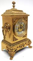 Fine Antique French 8-day Striking Mantel Clock - Sought Solid Bronze Ormolu Case (4 of 11)