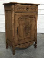 French Early Oak Small Cupboard or Cabinet (9 of 16)