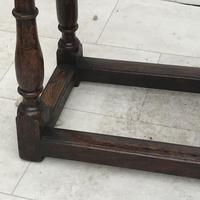 Pair of Oak Coffin Stools Circa Late 17th Century (12 of 24)