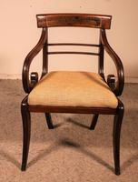 Regency Rosewood Chair Early 19th Century c.1811 (2 of 10)