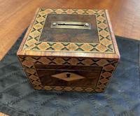 Tunbridgeware Money Box