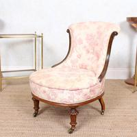 Tub Chair Carved Mahogany 19th Century (6 of 10)