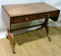 Regency Period Small Sofa Table c.1815 (9 of 9)