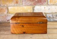 Figured Walnut Tunbridge Table Box 1880 (5 of 7)