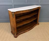 19th Century Rosewood Open Bookcase (4 of 13)