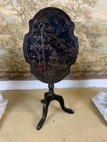 19th Century Chinoiserie Style Occasional Table (3 of 6)