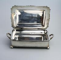 Scarce Regency Silver Old Sheffield Plate Cheese / Bacon Dish c.1820 (7 of 11)