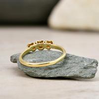 The Vintage 1961 Three Heart Diamond Ring (4 of 4)