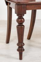 Good Pair of Victorian Mahogany Hall Chairs (2 of 8)