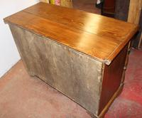 1900s Country Antique Pine Large Mule Chest - Well Polished (5 of 5)