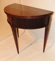 Dutch Mahogany & Marquetry Side Table (7 of 11)