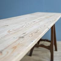Pine & Oak Trestle Table (7 of 10)