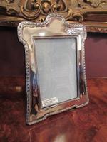 Decorative George V Period Silver Photo Frame