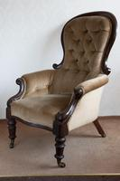Gentleman's Button Backed Armchair (3 of 6)