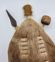 African Cow Hide Mini Zulu Shield (8 of 8)