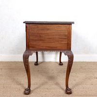Carved Walnut Writing Desk (4 of 12)