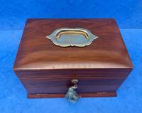 Victorian Walnut Jewellery Box c.1900 (12 of 13)