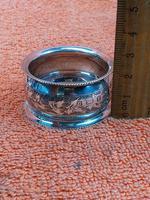 Antique Sterling Silver Hallmarked Napkin Ring 1901 John Rose (8 of 10)