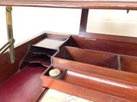 Edwardian Mahogany Metamorphic Writing Desk by Edwards & Sons (6 of 10)
