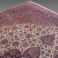 Very Large Antique Heriz Carpet, Persian, Room Size, Rug, Edwardian, Circa 1910 (6 of 12)