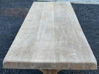 Huge French Bleached Oak Farmhouse Dining Table (21 of 34)