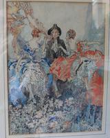 Vintage Original Watercolour - poss. Book Illustration - Yvonne Hind (3 of 8)