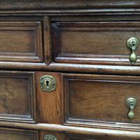 Late 17th Century Oak & Elm Chest of Drawers (6 of 6)
