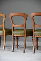 4 Victorian Mahogany Dining Chairs (7 of 12)
