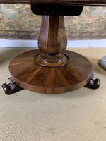 Large English Regency Rosewood Centre Table (3 of 6)