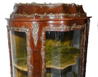 Antique Display Cabinet French Louis XVI Inlaid Bijouterie (5 of 10)