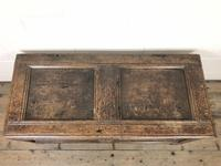 Antique 17th Century Carved Oak Coffer (8 of 10)