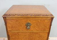 Pair of Burr Walnut Bedside Cabinets c.1930 (9 of 11)