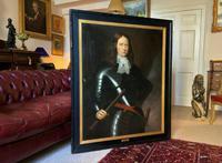 Huge Oil Portrait Painting of 17th Century General John Richmond Webb (2 of 16)