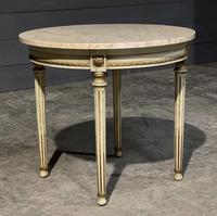 French Round Marble Top Coffee Table (8 of 15)