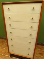 Mid Century Retro G-plan E Gomme China White Chest Of Drawers original condition (18 of 18)
