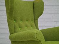 Danish Design by Fritz Hansen, 60s, Completely Restored-reupholstered Armchair (3 of 13)