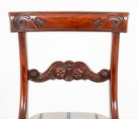 Set of 4 William IV Style Mahogany Chairs (4 of 10)