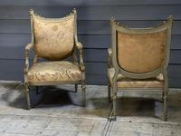 Super Pair of French Upholstered Armchairs (21 of 26)